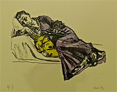 Wine Series Feeding (2007) - Paula Rego (1935) (pedrosimoes7) Tags: portugal museum museu feeding lisbon muse cc creativecommons algs camb wineseries paularego centrodeartemodernamanueldebrito parqueanjos artsandliteraturesexposition