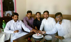 Happy Birth Day - Irfan Kayani - Incharge Guldasta - Weekly Pindi Post (13) (Dhakala Village) Tags: سالگرہ مبارک happybirthday celebration mibrahim ibrahim ibrahimdhakala irfankayani shahzadraza mirzasulman firdosmehmood abduljabbar kake smilingface gathering home