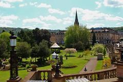 Parade Gardens by the River Avon Bath (Eddie Crutchley) Tags: park city england sunlight gardens bath europe outdoor simplysuperb