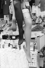 Socks (sirio174 (anche su Lomography)) Tags: socks calze nylon mercato market como