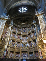 Spain - Galicia - Ourense - Cathedral - Altar (JulesFoto) Tags: spain galicia ourense cathedral interior altar