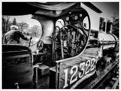 Easy does it... (Yngwie87) Tags: blackandwhite bw elr horwich steamlocomotive 1896 12322