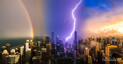 (7.13.16)-360_Rainbow_Storm-WEB-20 (ChiPhotoGuy) Tags: chicago storm weather skyline lightning rainbow cityscape epic clouds cloudporn 360chicago johnhancock hancock observationdeck rooftop stormy wx skyporn