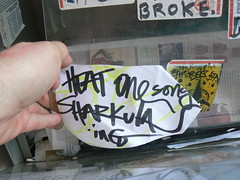 sharkula (httpill) Tags: streetart chicago art graffiti tag graf sharkula