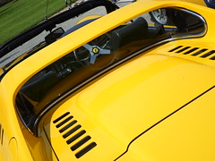 Ferrari 246 GTS (George Matthews) Tags: uk house cars sports car yellow george dino super ferrari exotic rare matthews supercars gts cliveden 246 pistonheads 2013 supercarsuk