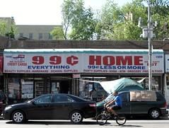 99 Home (neppanen) Tags: usa newyork home bike bicycle shop america store discount bmx bronx cent 99 storefront polkupyörä 99cent discounterintelligence sampen