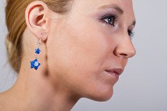 Estelle-Z 4 (Eusebius@Commons) Tags: portrait woman model origami earring blonde