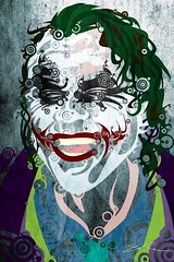 Joker 08 (legacyartist) Tags: portrait art smile illustration photoshop dark dead death alone goth evil entertainment cover heath comicbook batman horror joker darkknight creed ledger