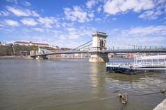Szchenyi lnchd (Chain Bridge) (Sterling750) Tags: hungary sony budapest sigma sunny 1020mm pest lightroom a35