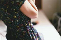 Analog (Thile Elissa) Tags: me floral analog analgica nikon dress yo flor eu io filme vestido estampa analgico pelcula watashi fm3 nikonfm3 thileelissa