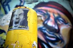 faith wall 1 (Mr.  Mark) Tags: deleteme5 deleteme8 toronto blur color colour deleteme deleteme2 deleteme3 deleteme4 deleteme6 deleteme9 deleteme7 face sign graffiti photo alley nikon focus sticker deleteme10 tag stock 5200 deleteme11 markboucher d5200