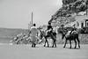 Greek Taxi (Stephen Whittaker) Tags: people white black film nikon donkey scene d5100 whitto27
