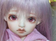 :: Rosen Lied Beige - Make up detail :: (Bunraku Doll) Tags: cute girl beige doll ooak makeup tuesday josephine bjd 16 人形 resin custom dollfie basic gladys muñeca langdon glitzy かわいい 可愛い 女の子 faceup yosd lavenderhair rosenlied bunrakudoll bunrakudollfaceup
