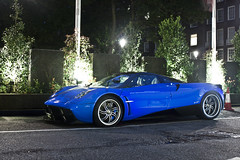 Perfection (Harrison Medway-Smith) Tags: blue london night canon eos twin vehicles turbo arab autos supercar cinque zonda qatar supercars v12 177 pagani 500d huayra huarya harrisonmedwaysmith