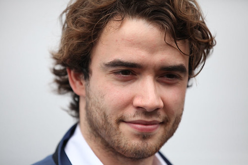 UWantMeToKillHim actors Jamie Blackley outside the Filmhouse after the Awards ceremony with his Award
