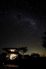 ... Comet ... (G.Borges_) Tags: sky night canon estrela estrelas céu stm comet cadente t4i 18135mm