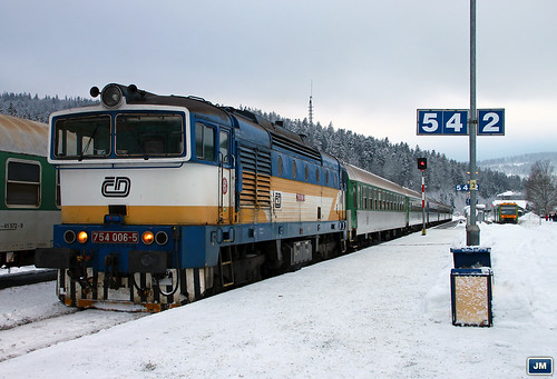 754006 Železná Ruda-Alžbětín / Bayerisch Eisenstein 110101