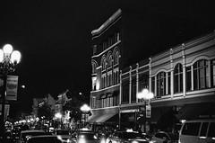 Illford XP2 B&W film (bboimarc) Tags: california nikon downtown sandiego gaslamp f5 50mmf14 nikonf5 sandiegodowntown nikon50mmf14 sandiegogaslamp