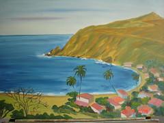 Oleo Chichiriviche de La Costa 1 (alonsotegui) Tags: parque paisajes art arte venezuela imagenes turismo vacaciones playas pintura cuadros pinturas montes oleo chichiriviche oleos excursiones lienzos impresionismo ingenuo esparcimiento