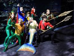 costumes cosplay tripod superman armor georgiaaquarium dragoncon mera aquaman comicbookcharacter explored 2013 topazlabs comicbookcostume