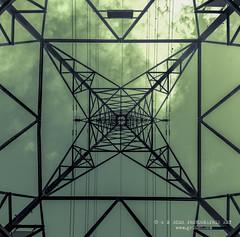 Lines (grbush) Tags: bw monochrome blackwhite pylon powerlines electricity electricitypylon tokinaatx116prodxaf1116mmf28 sonyslta77