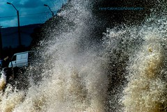 (Irene Cabre) Tags: ocean sunset sea sky naturaleza sun green beach southamerica vacances landscapes sand holidays natura paisaje cielo vacaciones paissatge playas sudamerica suramerica platges piriapolisuruguay