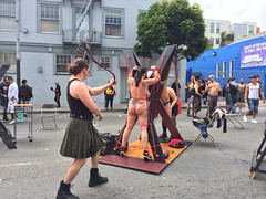 Sunday in San Francisco. (HeyMoira) Tags: folsom bdsm folsomstreetfair whipping