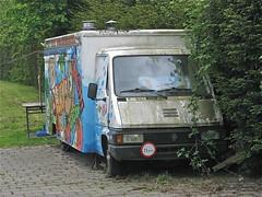 RENAULT Master T35 MK1 (ClassicsOnTheStreet) Tags: abandoned amsterdam renault master snackbar mk1 25km t35 2013 autonegozio