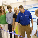 """<b>Aquatic Center Dedication of Service_100413_0135</b><br/> Photo by Zachary S. Stottler Luther College '15  <a href=""""http://farm8.static.flickr.com/7323/10095644666_391c0f7e0f_o.jpg"""" title=""""High res"""">∝</a>"""