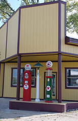 Old gas pumps  - Port Hope (WORLDS APART PHOTO) Tags: ford michigan aviation franklloydwright arctic tallship lakehuron wrightbrothers modelt steamtrain antarctic fordmuseum rosaparks frankenmuth baycity appledore thomasedison porthuron presidentlincoln greenfieldvillage porthope fordtrimotor dymaxionhouse admiralbyrd harborbeach presidentkennedy pointauxbarques parshallville octagonalbarn thumbofmichigan oldestwindmill