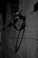 The Dark Ring (Sylvain Courant photographies) Tags: bw paris nature seine night dark mood noiretblanc nb ring sombre morte quai nocturne anneau ambiance sylvaincourant