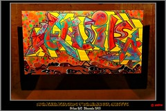 Quik - The souls of black people  (1992) (pharoahsax) Tags: world street urban streetart get art colors wall writing germany painting deutschland graffiti artwork stencil mural paint artist kunst tag huette tags spray peinture urbanart painter writer graff biennale legal spraycan saarland voelklingen sden suedwesten 2013 voelklinger pmbvw worldgetcolors