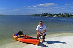 Uninhabited island in Santa Rosa Sound near Fort Walton Beach, Florida (Hawkfish) Tags: beach me gulfofmexico kayak florida fortwaltonbeach floridapanhandle santarosasound canonpowershots100