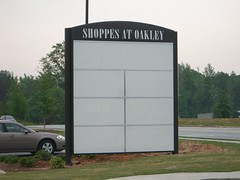 Directional Monument Sign | Signarama Fayetteville, GA | Shoppes at Oakley Fairburn