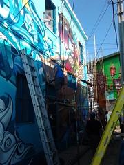 Color Imposible Crew (COLOR IMPOSIBLE CREW) Tags: west color festival graffiti valparaiso noviembre crew asie graff painters 012 2012 polanco zade imposible jkr fros