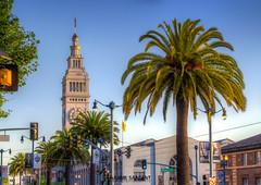San Francisco Ferry Building (Hajime Sargent) Tags: sanfrancisco california morning building ferry sunrise embarcadero hdr the