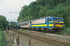 NMBS 2134 @ Hamoir (Peter Van Gestel) Tags: 21 pont tac serie trein spoor 43 ligne lijn spoorbrug nmbs ourthe hamoir reeks autoslaaptrein sncb spoorwegbrug ourthelijn