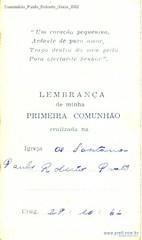 Comunhão Paulo Roberto Verso 1962