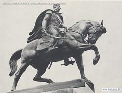 Edmondo Prati Cartolina davanti raffigurante il generale Oribe