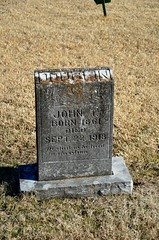 John T. Doublin (Adventurer Dustin Holmes) Tags: cemeteries cemetery grave graves gravestone tombstones gravemarkers gravemarker johndoublin johntdoublin newhomecemetery