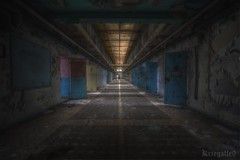 Enjoy the silence.(explore) (Kriegaffe 9) Tags: sunlight empty corridor explore prison cells h15 explored