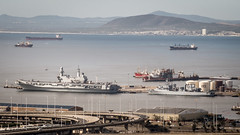 Small Force (Steve Crane) Tags: italy southafrica italian ship navy capetown aircraftcarrier naval westerncape