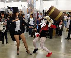 DSFE2014_D2-01 (Cutterin) Tags: dc cosplay adamhughes comiccon harleyquinn zatanna cutterin dallasscifiexpo2014