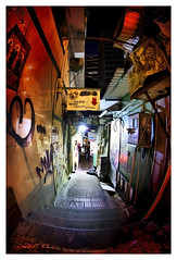 back corridor ge x (LPstyle) Tags: china road street old trip travel light sky house building heritage car skyline night skyscraper photoshop lens island photo reflex nikon asia flickr mood shot balcony taxi south central picture tourist east hong kong queens hd nikkor wan kowloon chai hdr 2428 d7000 ringexcellence