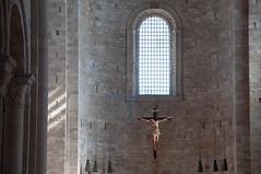Cattedrale di Trani (NIKOZAR (Nicola Zaratta)) Tags: nikon chiesa puglia cattedrale religione trani ges crocifisso navata nikond90