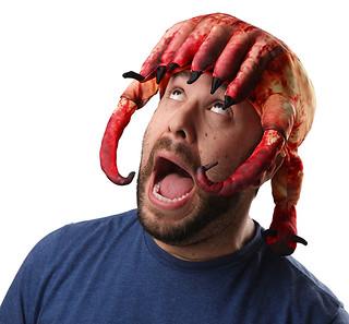 我的天吶!阿尼的頭被頭蟹河蟹了!
