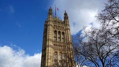 Victoria Tower (Pikakoko) Tags: uk greatbritain england sky london tower housesofparliament bigben
