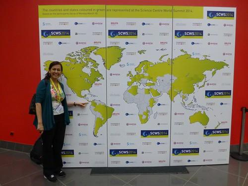 Participación por país en la Cumbre Mundial