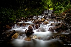 Peaceful waters (pippanera1965) Tags: longexposure italy water creek waterfall valtellina lombardy naturepoetry flickrdiamond infinitexposure