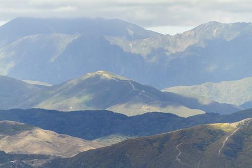 Berge in den verschiedenen Schattierungen, Wellington